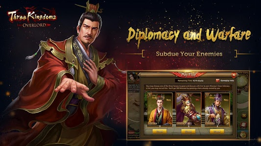 screenshot of Three Kingdoms: Overlord version 1.4.33