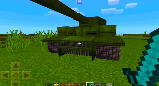 Download 2018 War Tank MCPE Mod! 1.3.27 APK