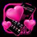 Download 3D Neon Heart Theme 1.1.2 APK