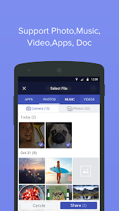 screenshot of 4 Share Apps - File Transfer version 1.3.4.5
