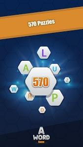 screenshot of A Word Game version 1.8.0