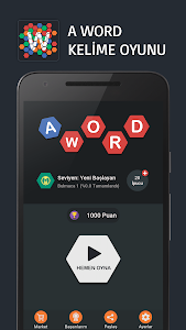 screenshot of A Word Kelime Oyunu (Türkçe) version 1.3.5