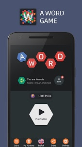 screenshot of A Word Game version 1.7.0