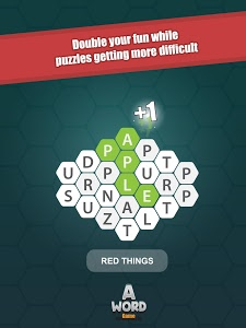 screenshot of A Word Game version 3.0.1
