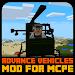 Download Advance Vehicles Mod for Minecraft PE transport 1.0 APK