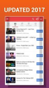 screenshot of VMate - video mate downloader version 2.0