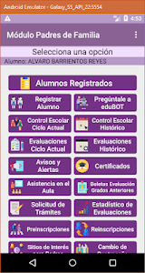 screenshot of Alumnos Coahuila version 4.1.0