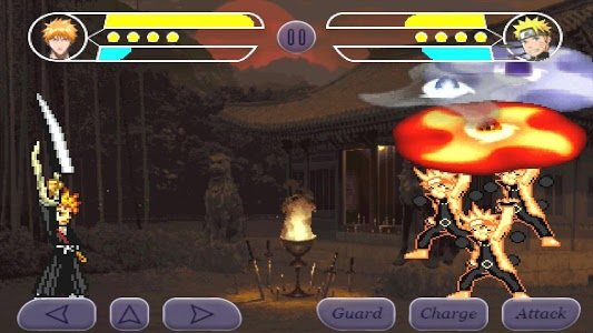 screenshot of Anime War version 1.09