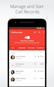 screenshot of Automatic Call Recorder for Me version Varies with device