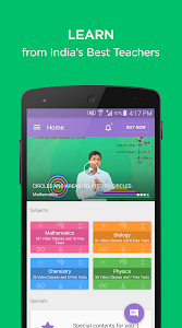 screenshot of BYJU'S – The Learning App version 2.0.0.9