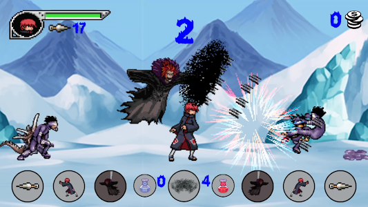 screenshot of Battle Of Akatsuki version 1.0