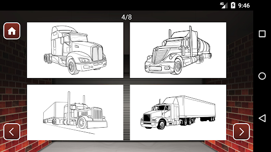 screenshot of Best Cars Coloring Book Game version 1.10