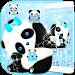 Download Blue Panda Cute Theme 1.1.1 APK