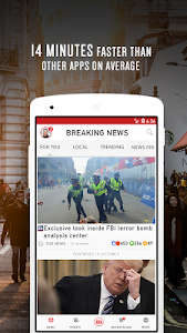 screenshot of US Breaking News: Latest Local News & Breaking version 9.0.8