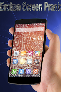 screenshot of Broken Screen Prank version 1.15