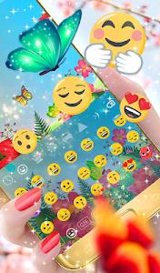 Download Butterflies Animated Keyboard 2.15 APK