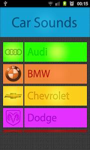 screenshot of Car Sound Ringtones version 1.3