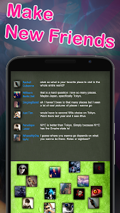 screenshot of Chat Rooms - Find Friends version 1.132532
