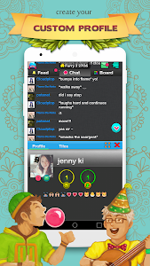 screenshot of Chat Rooms - Find Friends version 1.233548