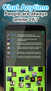screenshot of Chat Rooms - Find Friends version 1.07520