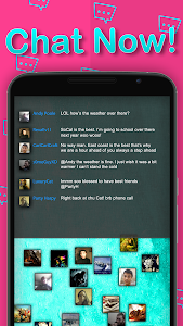 screenshot of Chat Rooms - Find Friends version 1.212614