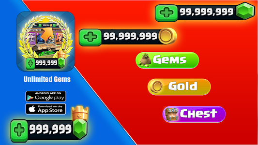 Download Chests and Gems for Clash Royale Clash-Royale APK
