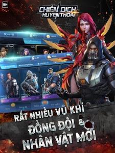screenshot of Chiến Dịch Huyền Thoại version 3.20.4
