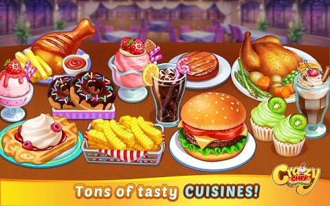Download Crazy Chef: Fast Restaurant Cooking Game 1.0.5 APK