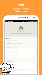 screenshot of Cookpad - Recipe Sharing App version 2.97.1.0-android