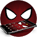 Download Crimson Horrific White Eyes Theme 1.1.1 APK