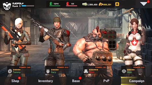 screenshot of DEAD TARGET 2 version 0.9.156