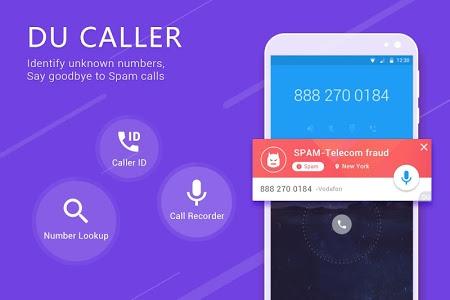 screenshot of Caller ID & Call Block - DU Caller version 4.0.8