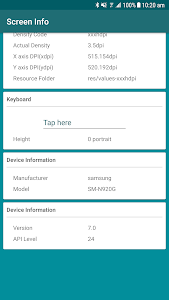 Download Device Screen Info 1.0.0 APK