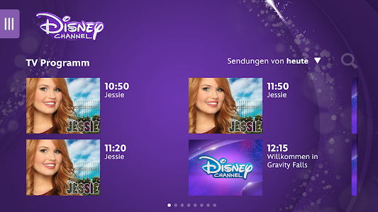 screenshot of Disney Channel version 1.2.8