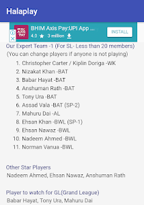 Download Abu Dhabi Dream11 Tips and Prediction Cricket Team 2.2 APK