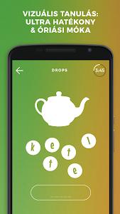 screenshot of Drops: Learn Korean, Japanese, Chinese language version 30.29