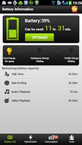 screenshot of Easy Battery Saver version 3.4.1