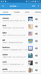 screenshot of Arabic Dictionary & Translator version 6.0.2