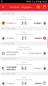 screenshot of Best of Belgian Football version 5.0.0