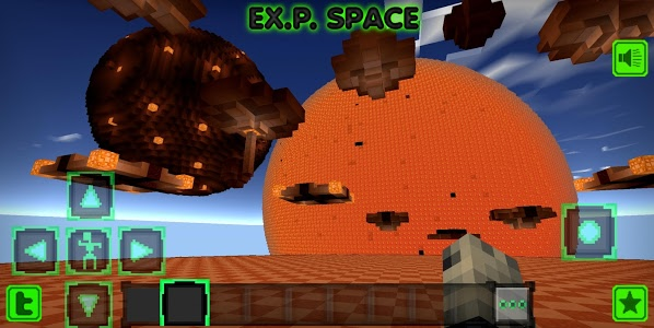 screenshot of Exploration Space version 10001.EX.P.SPACE.001
