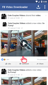 screenshot of FB Video Download Free version 2.0