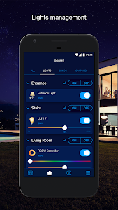 screenshot of FIBARO Home Center version 1.0.0