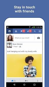screenshot of Facebook Lite version Varies with device