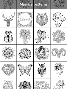 screenshot of Coloring Book for family version 3.0.2