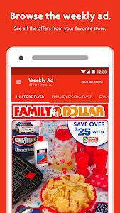 screenshot of Family Dollar version 3.1.0