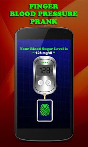 screenshot of Finger Blood Pressure Prank version 2.4