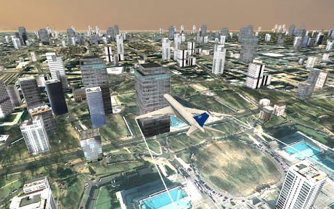screenshot of Flight Simulator: City Plane version 1.12
