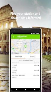 screenshot of FlixBus - Smart bus travel version Varies with device