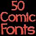 Download Fonts for FlipFont 50 Comic 3.23.0 APK