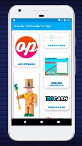 screenshot of Free Robux - New Tips To Earn & Get Robux Free Now version 1.1